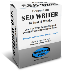 Learn to write SEO content.