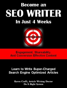 Learn to write SEO content