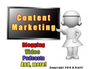 Blogging, Article writing, content