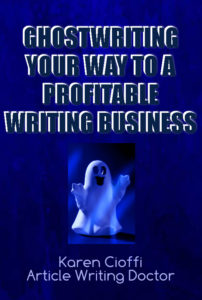 Learn how to become a ghostwriter