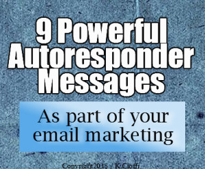 Email autoresponder message series
