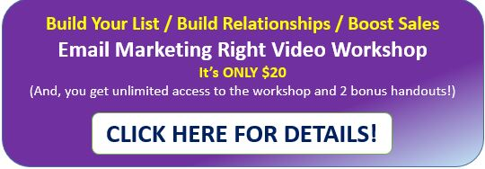 Get Details on Email Marketing Workshop