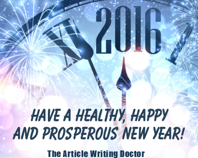 new year wishes from the article writing doctor