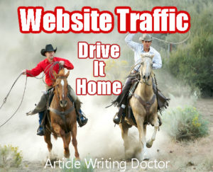 Tips to website traffic.