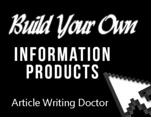 Build your own information business