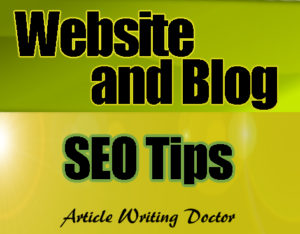 10 Website SEO Tips